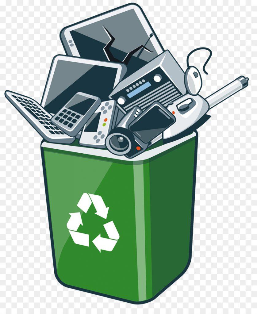 illustration d'un parc informatique à recycler